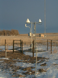 Me and my toolbox helped to install this site in Whitney, Nebraska! (Image Credit: NOAA)